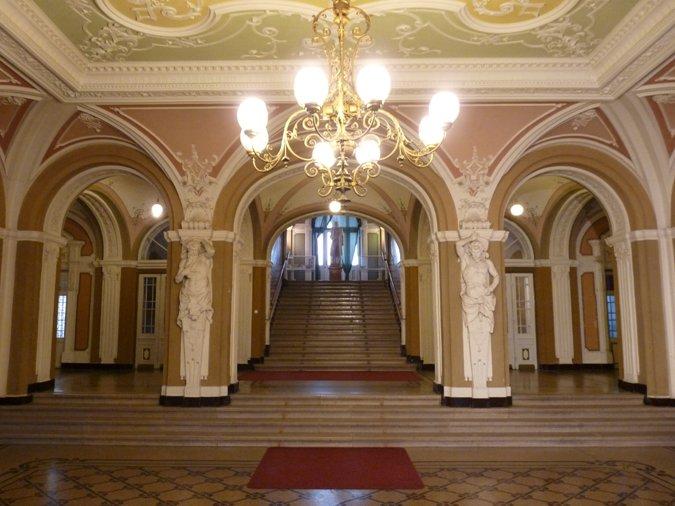 Városháza aula
